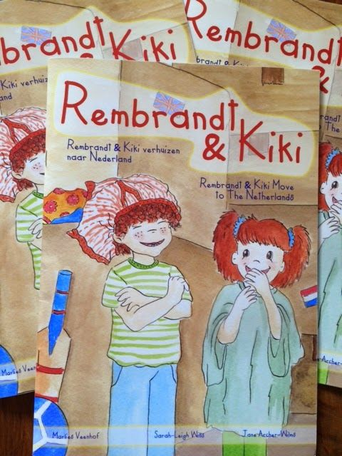 Expat Life With a Double Buggy: Meet the new kids on the block - the bilingual twins, Rembrandt and Kiki. A great new series of books for children learning Dutch or English as a second language.