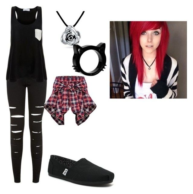 """""""Alex Dorame"""" by kelsiekeywest on Polyvore featuring New Look, Solid & Striped, Skechers and Bling Jewelry"""