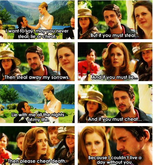 """Leap year"" one of my favorite parts ever. I quoted this to my husband ❤️"