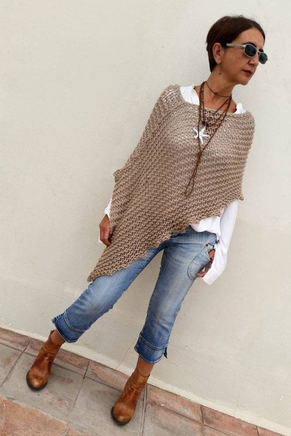 Reserved for Kristine, Knit wool poncho, women poncho, loose knit poncho, poncho trends, poncho sweater, knitwear, shawls and wraps