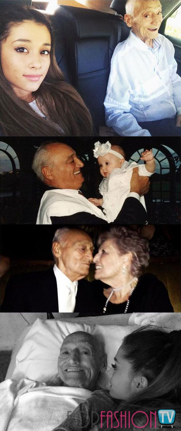 #ArianaGrande Posts Heartbreaking Tweets After Grandpa Frank Lost His Battle With Cancer - SO SAD :'(