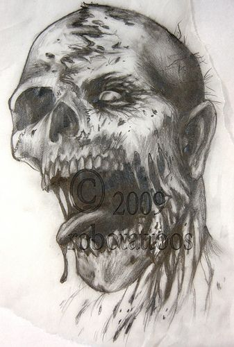 drawing for zombie | Flickr - Photo Sharing!