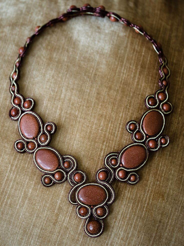 Necklace Estern lace (  Восточные кружева)