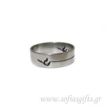 Ανδρικό δαχτυλίδι πουλί - Είδη σπιτιού και χειροποίητες δημιουργίες   Σοφία #ανδρικα #δαχτυλιδια #κοσμηματα #andrika #daxtylidia #kosmhmata