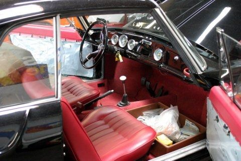restored  vw type  ghia sunroof coupe volkswagen type