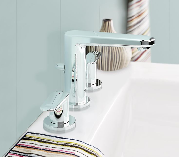 Grohe 20302000 Europlus 2 Handle Bathroom Faucet Touch