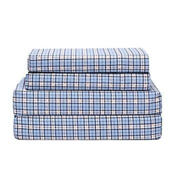 wyndham twin xl plaid sheets