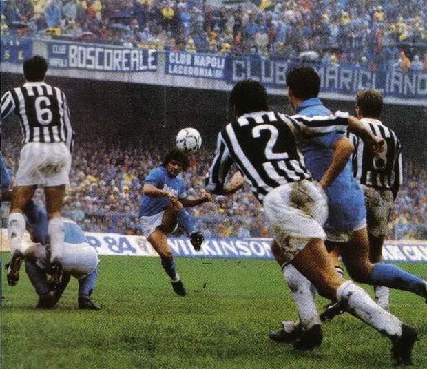 Maradona  Napoli Juventus