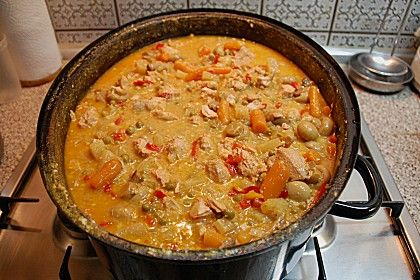 Ofensuppe (Rezept mit Bild) Chefkoch.de; mix ingredients, put in oven and leave until finished