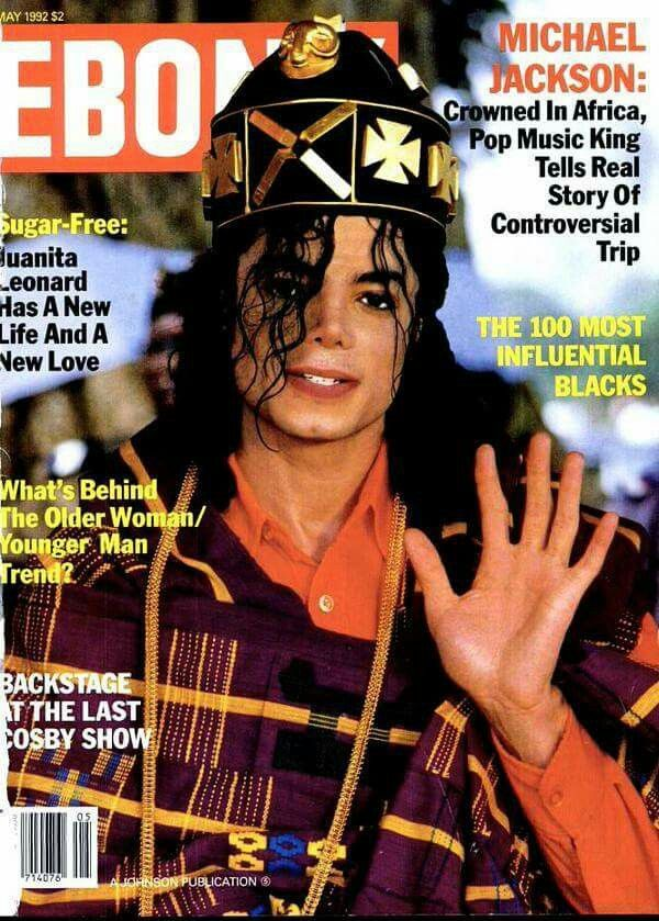 On 15th Feb 1992, Michael Joe Jackson was crowned KING SANI King of Africa in the Republic of SANWI by King Nana Amon N'Djafolk IV, a King who ruled more than a million tribes in Cote D'Ivoire ...Michael signed official documents with dignitaries, thanked everyone in French & English, traditional ceremonies were held.