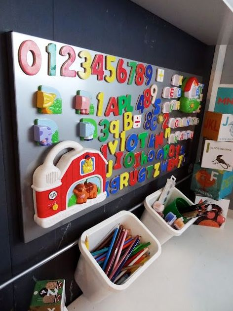 Best 25 magnetic wall ideas on pinterest magnetic board for Magnetic board for kids ikea