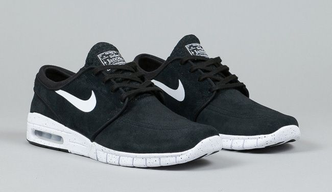Nike SB Stefan Janoski Max Black & White Shoes | Estilo hombre | Pinterest  | Max black, Stefan janoski and Nike SB