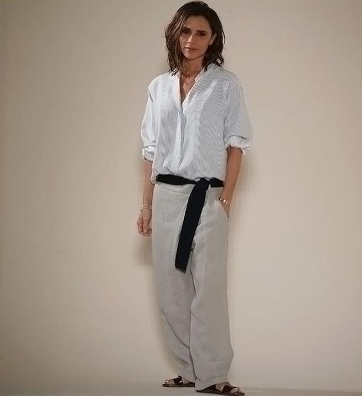 To ασύλληπτα σικ οutfit της Βικτόρια Μπέκαμ στην επίδειξη μόδας του Brand της…
