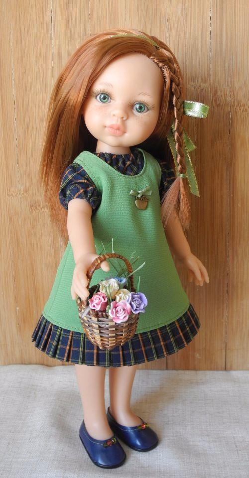 Лизавета идет в детский сад / Paola Reina, Antonio Juan и другие испанские куклы / Бэйбики. Куклы фото. Одежда для кукол