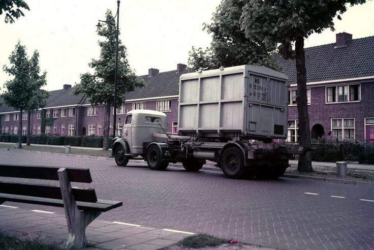 Ford met containerlosser