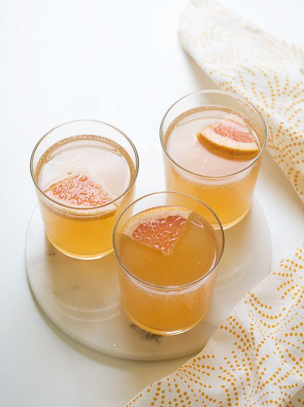 Grapefruit Shandy // www.acozykitchen.com