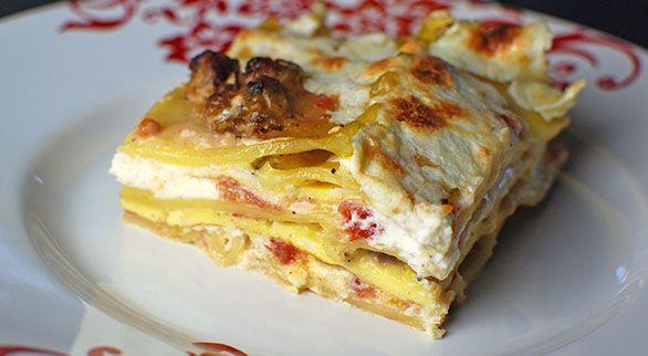 Breakfast Lasagna | Taste for Adventure - Unusual, Unique & Downright Awesome Recipes