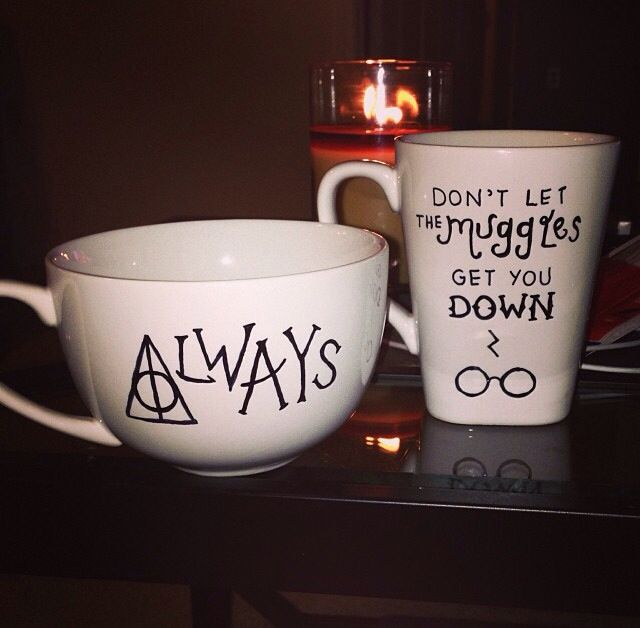 Harry Potter Sharpie Mug