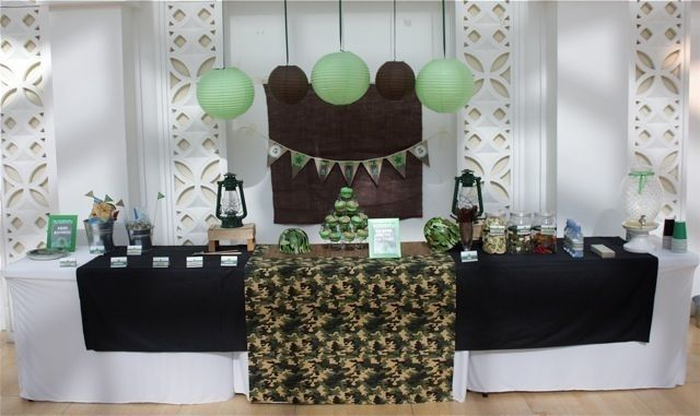 Two Army Themed Birthday Parties - Spaceships and Laser Beams