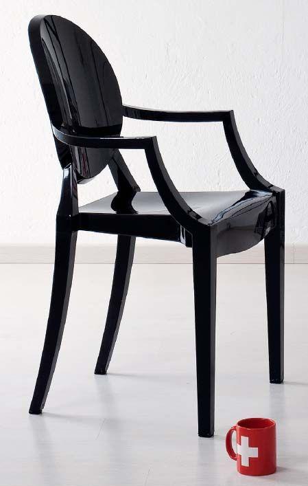 28 best sedie e sgabelli images on pinterest art art - Sedia trasparente kartell ...