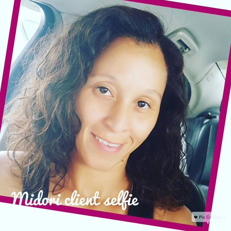 Happy Midori client just posted this selfie after having her hair done by Chantal & Ndale & hands and feet done by Lisa at Midori. We love satisfied clients!!