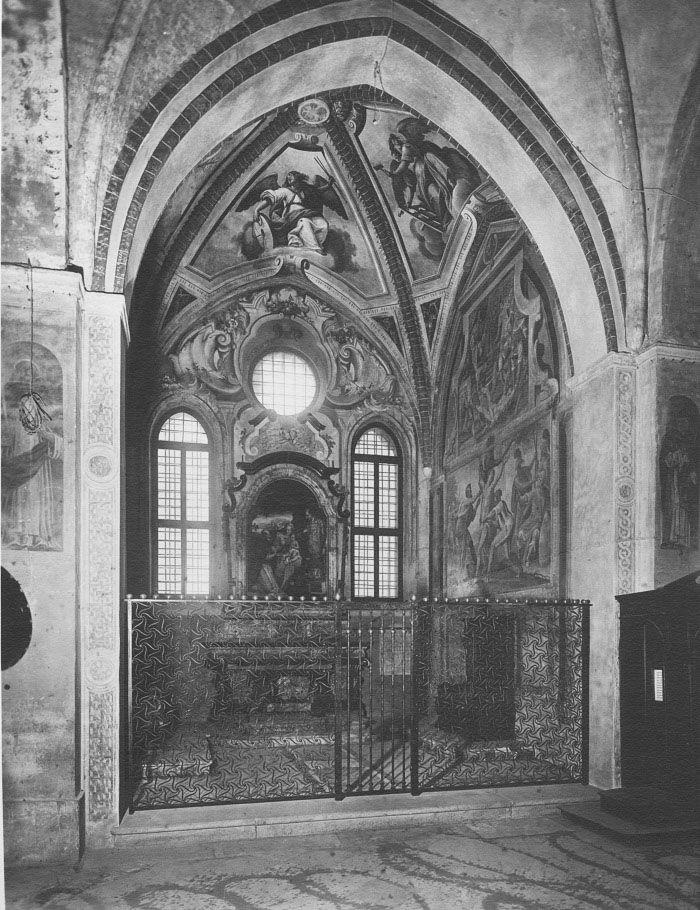 RP472 Restauro della cappella degli Atellani nella chiesa di Santa Maria delle Grazie Milano, piazza Santa Maria delle Grazie 1929-1931