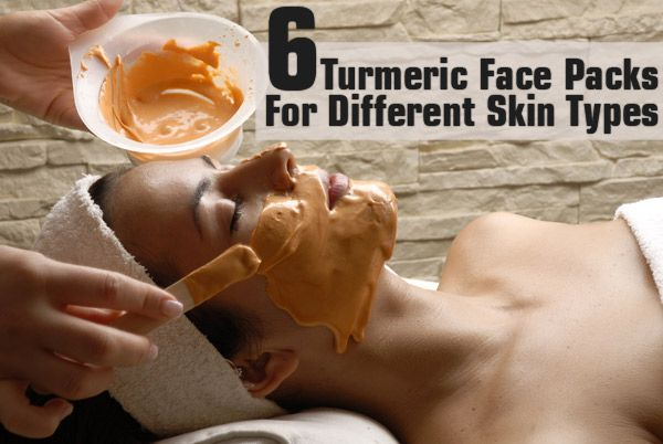 6 Turmeric Face Packs For Different Skin Types