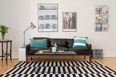 Sofás de couro podem, sem dúvida, transformar qualquer sala. O couro é um material que, apesar de rústico, é bastante sofisticado e deixa os ambientes com