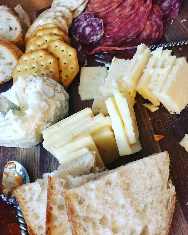 Bread, cheese and meat (plus some adult beverages)! Sunday funday with my boo-cakes! #ItalianMeats #ExoticCheeses #SourDough #CraftBeer #HappyPlace