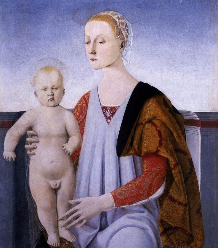 Virgin and Child Piero Della Francesca