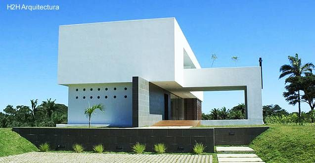17 best ideas about casa residencial on pinterest cua lo for Arquitectura de casas modernas