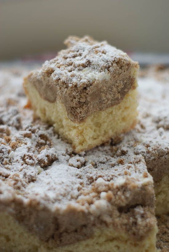 German Crumb Cake: Traditional bun dough is a soft yeasted dough so it's a little different from the sponge cake version you might be familiar with and is the perfect backdrop to a whole lotta crumbs!