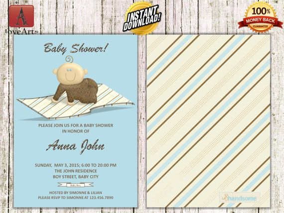 Hey, I found this really awesome Etsy listing at https://www.etsy.com/listing/247434337/instant-download-front-back-baby-shower