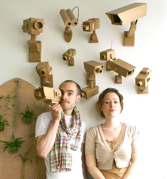 Génial! filez-doux- cardboard cameras