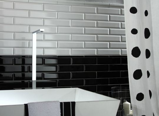 Long bevel wall tile by Academy Tiles