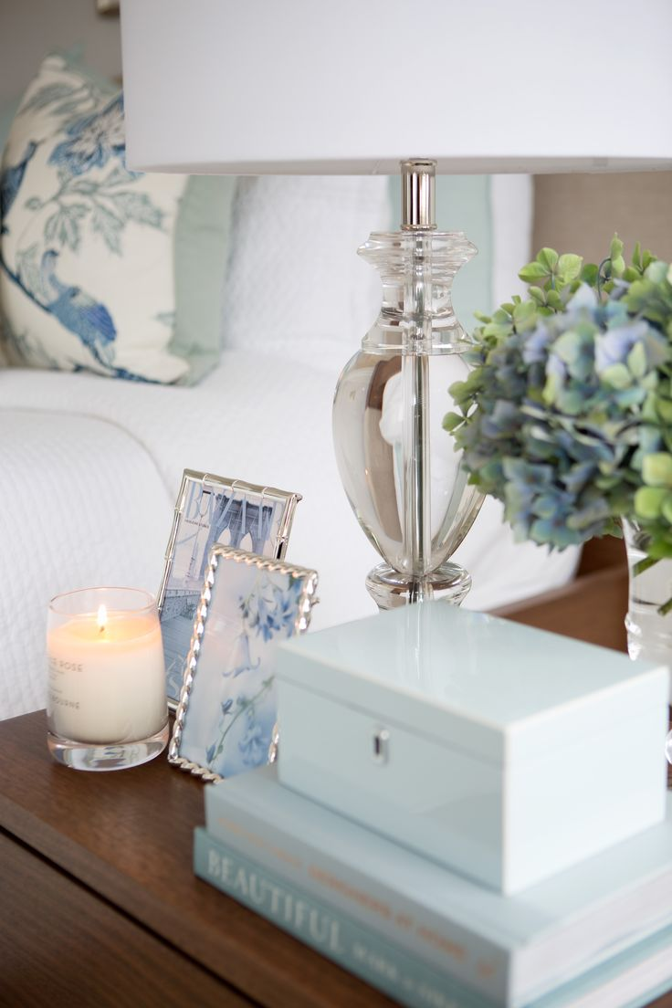 Leilani Ryder | Interior Decorating & Styling | Hamptons Bedroom | Bedside Table Styling