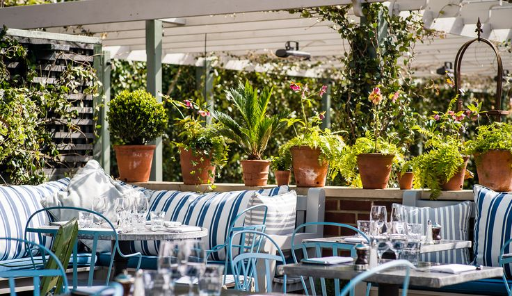 Summertime, and the living is easy. The list of London's best outdoor restaurants is longer than you think...for a population that insists on sitting outside the pub even in the dead of winter, we'd expect nothing less.