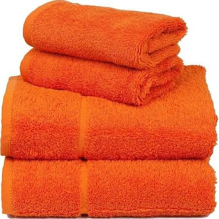orange and white bath towels - Google Search