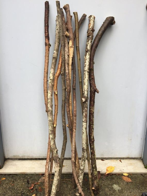 10 Super Long 34 To 36 Natural Wood Branches Sticks Twigs For Arts Crafts Natural Wood Branches Wood Branch Twig Crafts