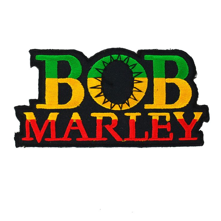 Lychee Reggae Music Star BOB MARLEY Embroidered Iron On Patch Applique DIY  Sewing *** For more information, visit image link.