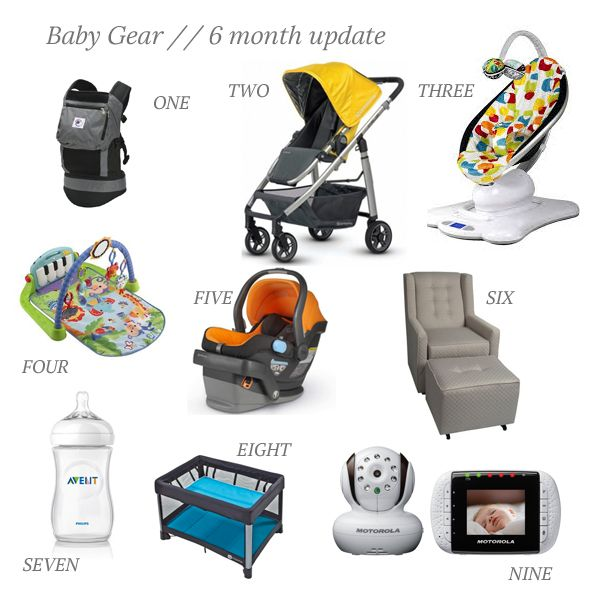 Baby Gear Loves and Not So Much Loves // 6 month update - The Small Things Blog