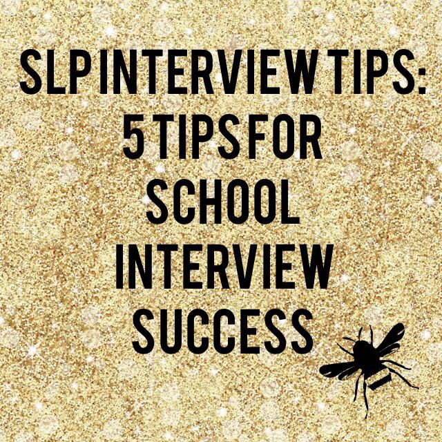 The Right Questions to Ask in a School SLP Interview: 5 Tips From Someone Who's Been There - SLP Caravan