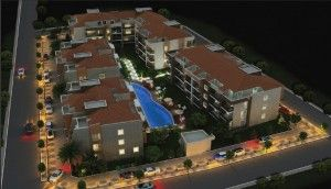 Bay View Apartments, Gulluk - This new complex of apartments and duplex apartments are situated just 50m from the beach, and are located in a superb location, central to everything Gulluk has to offer,  as well as the communal pool and garden areas, small gym and coffee bar. Excellent project for your money. Price: £54,920