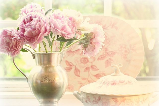 Still life in soft mood. by lucia and mapp, via Flickr: Thoughts, Dreamy Photos, Happy Www Hetbrocantehui Nl, Window, Flowers, Smile, Pcd Pics, Peonies, Fave Photos