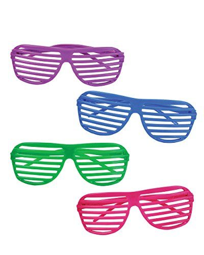 12 Pairs of 80's Sunglasses - Party Favors Rhode Island Novelty http://www.amazon.com/dp/B002C3R5XI/ref=cm_sw_r_pi_dp_QZqAub0YV8BFF