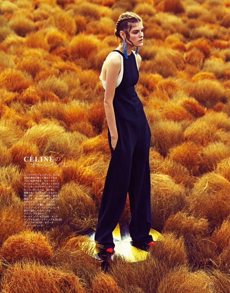 visual optimism; fashion editorials, shows, campaigns & more!: kia low by takaki kumada for spur february 2015