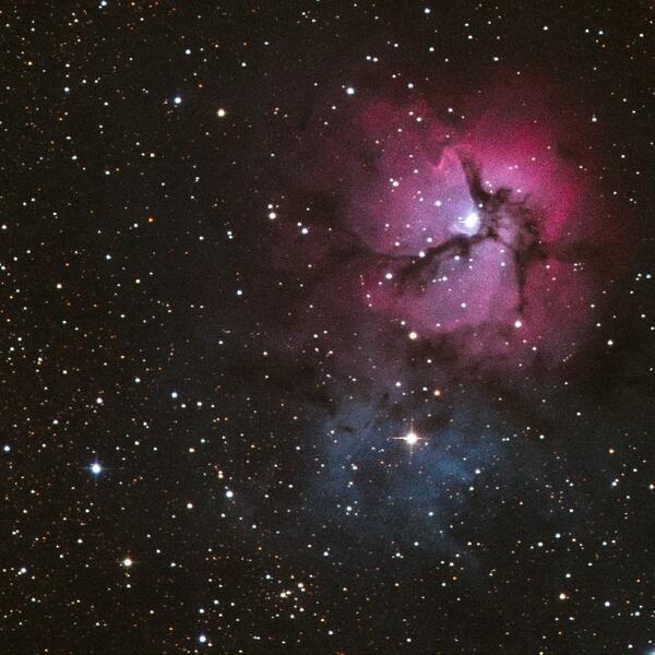Trifid Nebula - Pics about space