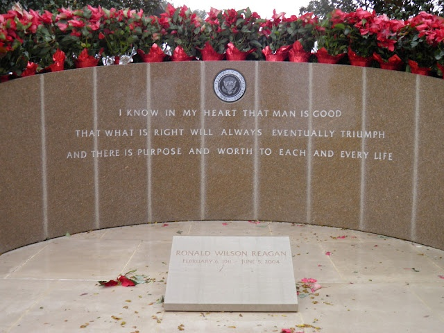 Ronald Reagan's final resting place