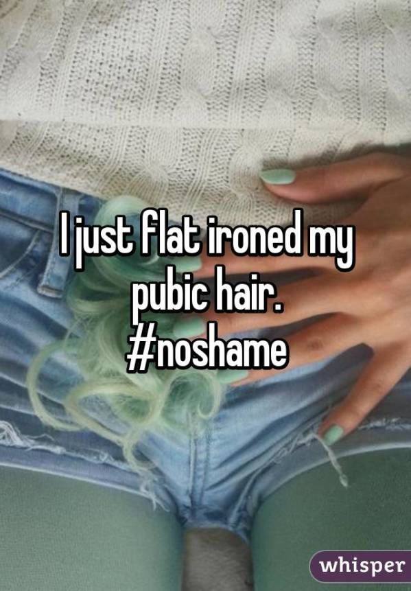 confessions about pubic hair that will surprise you