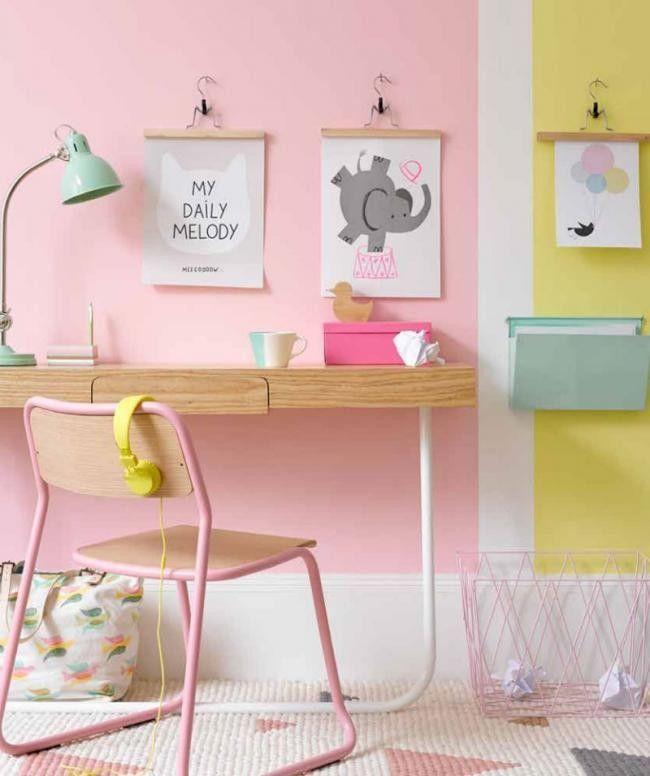 No te pierdas estas 9 ideas para dormitorios infantiles muy creativos, llenos de color, con muchos detalles, mobiliario escolar vintage y detalles ...